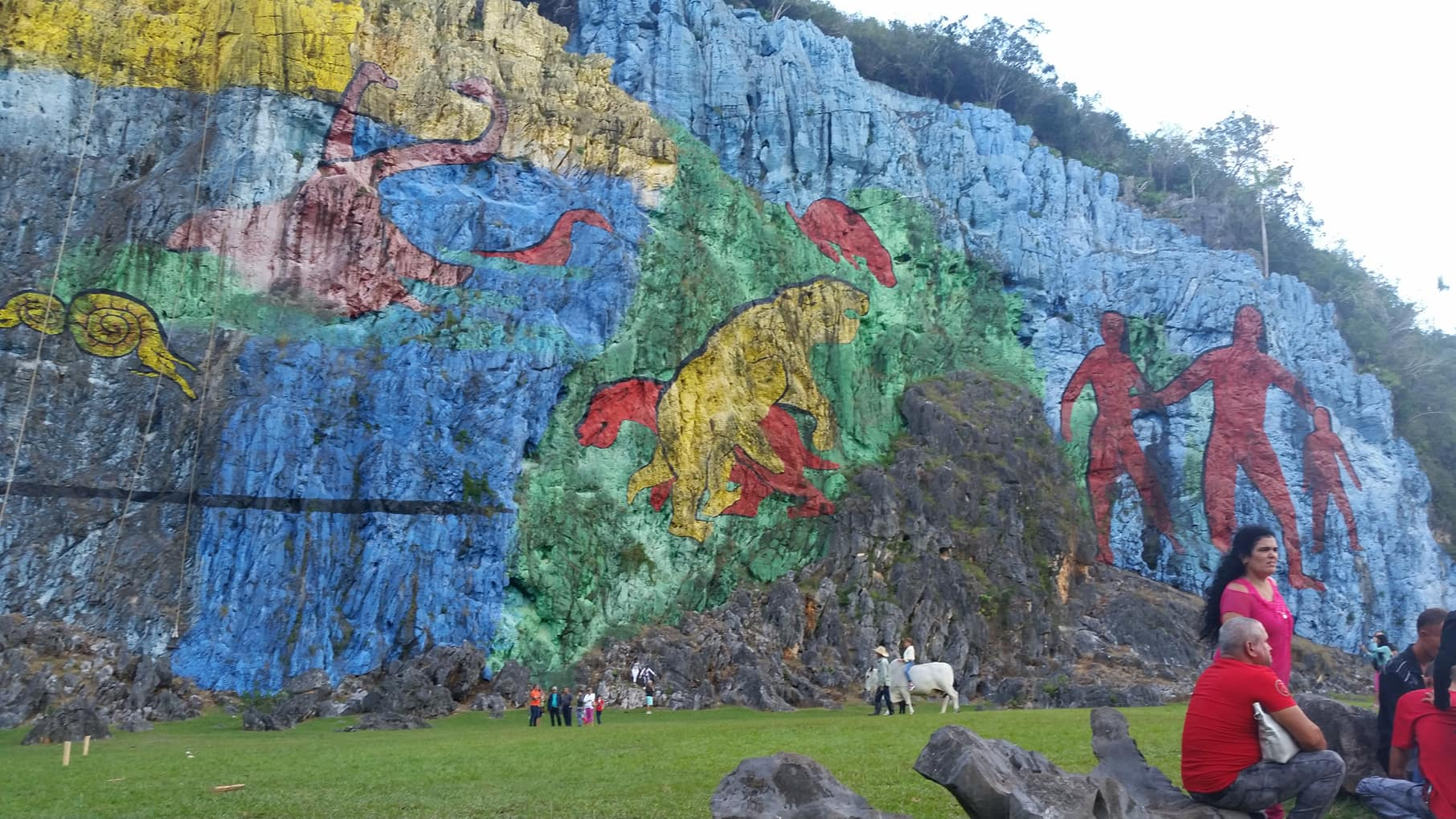 viñales mural de la prehistoria 1